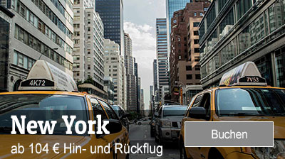 Flug nach New York